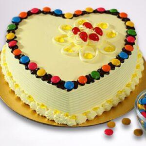 Butterscotch Gems Cake