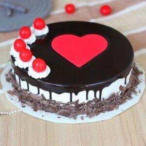 Artistic Black Forest Cake