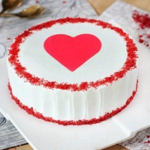 Divine Red Velvet Cake