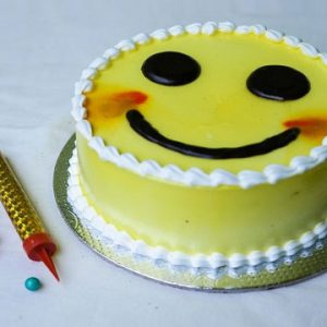 Smile Theme Cake