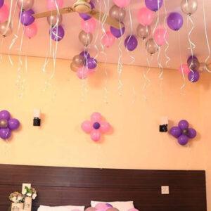 Colorful Balloons Decor