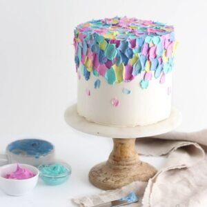 Colourful Smash Cake