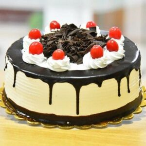 Dripping Black Forest Cake
