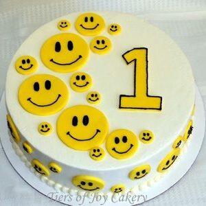 Emoji Theme Cake 3