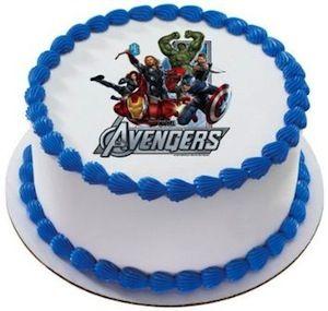 Avenger Photo Cake