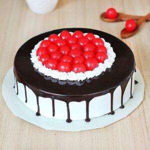 Glaze Cherry Black Forest Cake