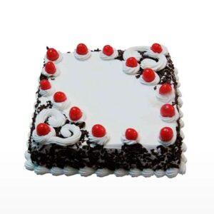 Black Forest Cake Square Shape