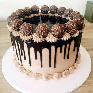 Rich Ferrero Rocher Cake