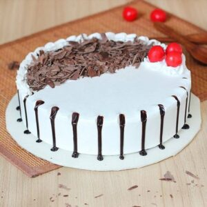 Black Forest Cake with Chocolate Flakes