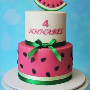Water Melon Theme Cake
