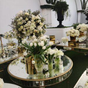 Serene White Flowers