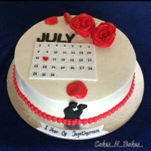 My Special Date Cake