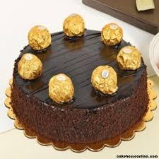Ferrero Rocher Cake 7