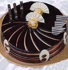 Elegant Ferrero Rocher Cake