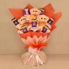 Teddy & Chocolate Bouquet