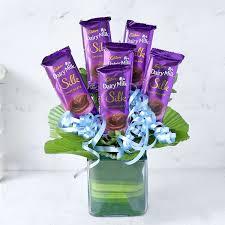 Exotic Dairy Milk Silk Chocolate Bouquet