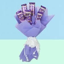Dairy Milk Silk Chocolate Bouquet